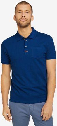 Tom Tailor Polo Koszulka Niebieski - Ceny i opinie T-shirty i koszulki męskie DICR
