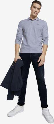 Tom Tailor Polo Koszulka Szary - Ceny i opinie T-shirty i koszulki męskie ECBZ