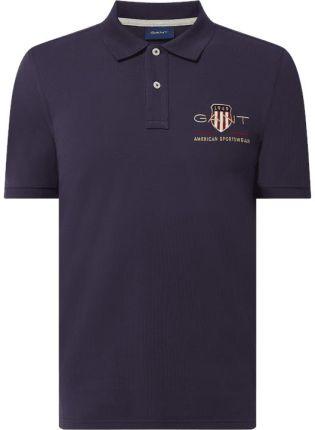 Koszulka polo z wyhaftowanym logo - Ceny i opinie T-shirty i koszulki męskie MFUP