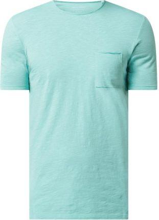 T shirt o kroju shaped fit z bawełny ekologicznej - Ceny i opinie T-shirty i koszulki męskie UHAV