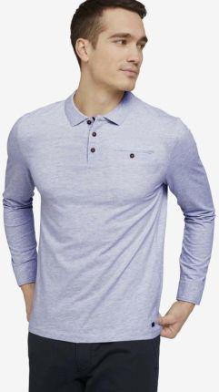 Tom Tailor Polo Koszulka Niebieski - Ceny i opinie T-shirty i koszulki męskie ZZFS