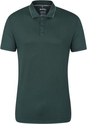 Tournament II koszulka polo Green - Ceny i opinie T-shirty i koszulki męskie TTGX