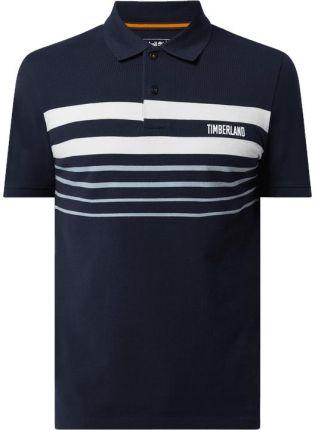 Koszulka polo o kroju regular fit z bawełny ekologicznej - Ceny i opinie T-shirty i koszulki męskie VLBX