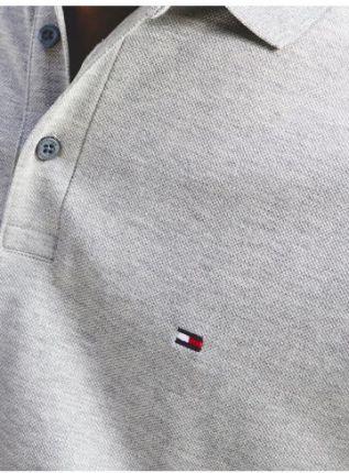 Tommy Hilfiger Polo Męskie 1985 Szary XL - Ceny i opinie T-shirty i koszulki męskie USZS