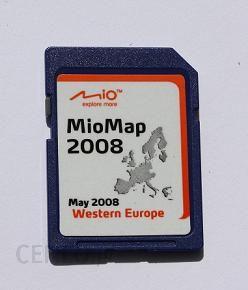Mapa Do Nawigacji Rozszerzenie Map Europa Zachodnia Do Serii Mio