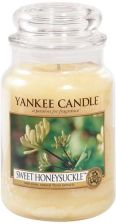Yankee Candle SWEET HONEYSUCLE duży słoik
