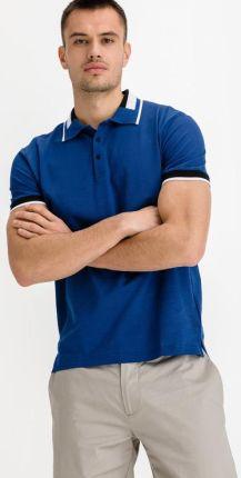 Antony Morato Polo Koszulka Niebieski - Ceny i opinie T-shirty i koszulki męskie WQON