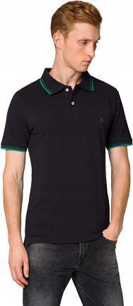 Koszulka Polo Męska Granatowa Lancerto Lucas XL - Ceny i opinie T-shirty i koszulki męskie ELGZ