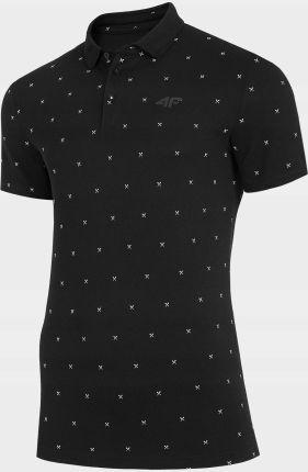 Koszulka Polo T-shirt Męski 4F TSM315 - Ceny i opinie T-shirty i koszulki męskie CVBE