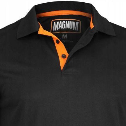Koszulka męska Magnum Polo Sportowa Czarna r XL - Ceny i opinie T-shirty i koszulki męskie BBBG