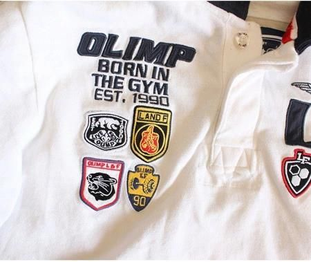 Olimp Koszulka Polo Paramount White - M - Ceny i opinie T-shirty i koszulki męskie PBCN