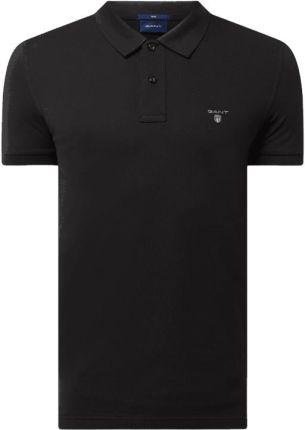 Koszulka polo o kroju Slim Fit z piki - Ceny i opinie T-shirty i koszulki męskie EZBR