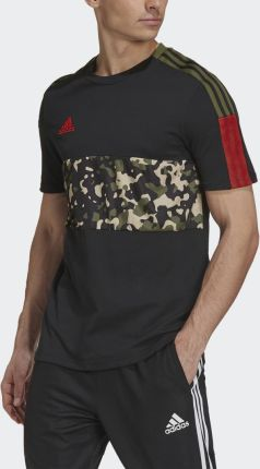 Adidas TIRO TEE AOP GU8189 - Ceny i opinie T-shirty i koszulki męskie GVIX
