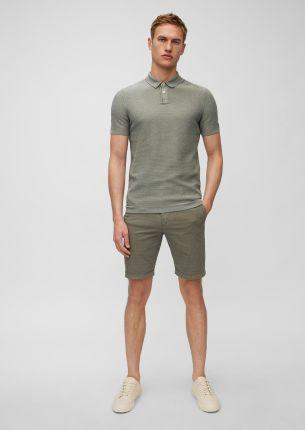 Dzianinowa koszulka polo z krÓtkim rękawem, regular - Ceny i opinie T-shirty i koszulki męskie ZSDY