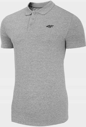 Koszulka Polo T-shirt Męski 4F TSM310 - Ceny i opinie T-shirty i koszulki męskie XYRH