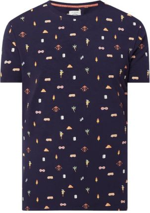 T shirt we wzory na całej powierzchni - Ceny i opinie T-shirty i koszulki męskie DDVU