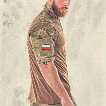 T Shirt Taktyczny Polo Condor Combat Multicam L - Ceny i opinie T-shirty i koszulki męskie EXEK