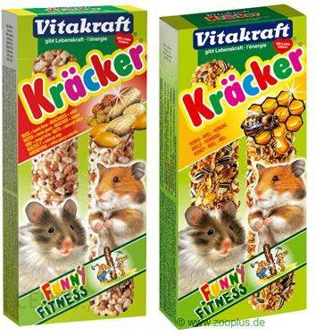 Vitakraft krakersy dla chomików, multipaka - 3 x 3 szt. (multiwitaminy, miód, owoce)