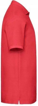 Męska koszulka polo Fruit Premium czerwona S - Ceny i opinie T-shirty i koszulki męskie MESL