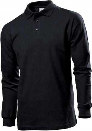 Koszulka Polo męska Stedman St 3400 r. M czarna - Ceny i opinie T-shirty i koszulki męskie YFOA
