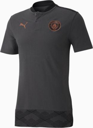 PUMA Męska Piłkarska Koszulka Polo Man City Casuals, szary, rozmiar XS, Odzież - Ceny i opinie T-shirty i koszulki męskie DIBN