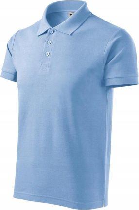 Koszulka męska polo Adler 215 100% bawełna M - Ceny i opinie T-shirty i koszulki męskie EULK