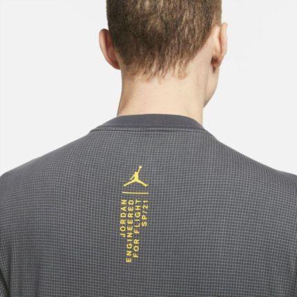 Jordan Męski T shirt z krÓtkim rękawem Jordan 23 Engineered Czerń - Ceny i opinie T-shirty i koszulki męskie ZQJS