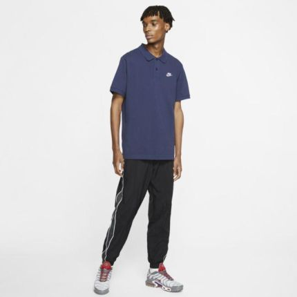 Nike Męska koszulka polo Nike Sportswear Niebieski - Ceny i opinie T-shirty i koszulki męskie YIDQ