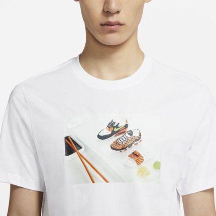 Nike Męski T shirt Nike Sportswear Biel - Ceny i opinie T-shirty i koszulki męskie CRZW
