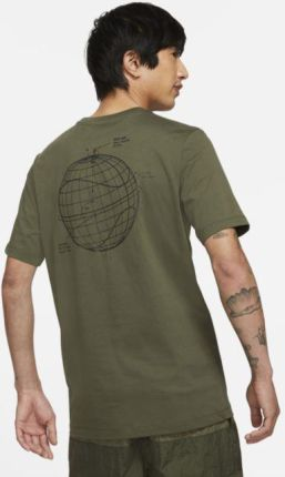 Nike T shirt męski Nike Air Brązowy - Ceny i opinie T-shirty i koszulki męskie ZSND