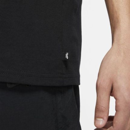Nike T shirt do skateboardingu Nike SB Czerń - Ceny i opinie T-shirty i koszulki męskie SJWK