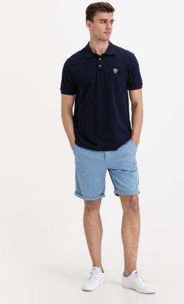 Lamborghini Polo Koszulka Niebieski - Ceny i opinie T-shirty i koszulki męskie TZBL