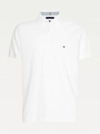 Tommy Hilfiger Polo Męskie 1985 Biały S - Ceny i opinie T-shirty i koszulki męskie QMDY
