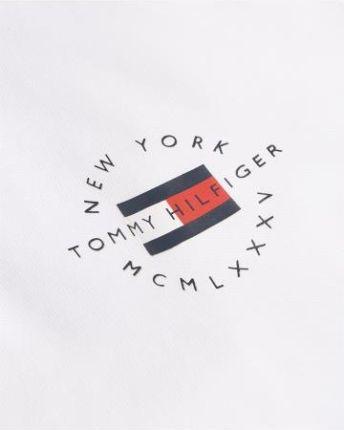 Tommy Hilfiger Polo Męskie Placket Biały S - Ceny i opinie T-shirty i koszulki męskie HCII