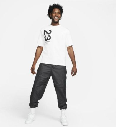 Jordan Męski T shirt z krÓtkim rękawem Jordan 23 Engineered Biel - Ceny i opinie T-shirty i koszulki męskie VQMP