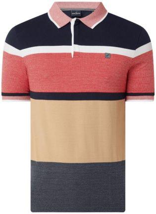 Koszulka polo o kroju modern fit z piki - Ceny i opinie T-shirty i koszulki męskie MWXE