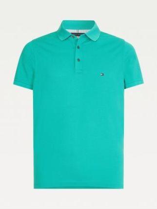 Tommy Hilfiger Polo Męskie 1985 Zielony S - Ceny i opinie T-shirty i koszulki męskie CSQP