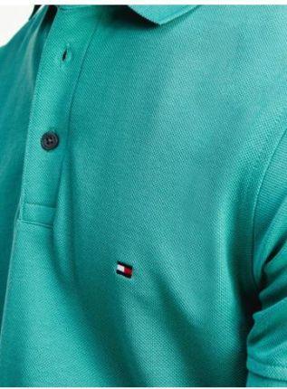 Tommy Hilfiger Polo Męskie 1985 Zielony M - Ceny i opinie T-shirty i koszulki męskie QKSB