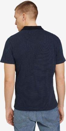 Tom Tailor Polo Koszulka Niebieski - Ceny i opinie T-shirty i koszulki męskie JVGF