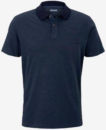Tom Tailor Polo Koszulka Niebieski - Ceny i opinie T-shirty i koszulki męskie EGAV