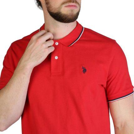 Koszulka polo U.s. Polo Assn. 59619 Czerwony - Ceny i opinie T-shirty i koszulki męskie IVPF
