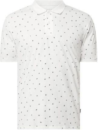 Koszulka polo o kroju regular fit z bawełny ekologicznej - Ceny i opinie T-shirty i koszulki męskie HBUM