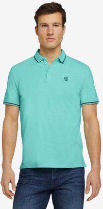 Tom Tailor Polo Koszulka Niebieski - Ceny i opinie T-shirty i koszulki męskie YIRZ