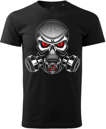 Voyovnik Koszulka T-Shirt Gas Mask Czarna (V-2102-22-01) - Ceny i opinie T-shirty i koszulki męskie AXVU