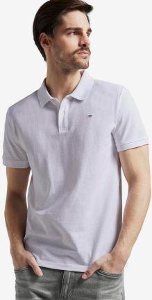 Tom Tailor Polo Koszulka Biały - Ceny i opinie T-shirty i koszulki męskie QIVR