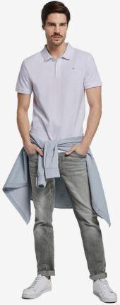 Tom Tailor Polo Koszulka Biały - Ceny i opinie T-shirty i koszulki męskie BYPR