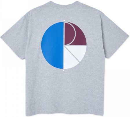 Koszulka Polar 3 Tone Fill Logo Sport Grey - Ceny i opinie T-shirty i koszulki męskie KQIE