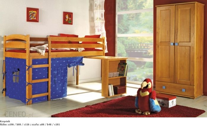 Dolmar Meble łóżko Krzysiek