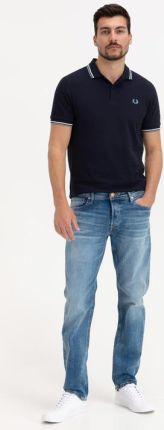Fred Perry Polo Koszulka Niebieski - Ceny i opinie T-shirty i koszulki męskie SXMJ