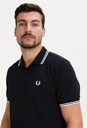 Fred Perry Polo Koszulka Czarny - Ceny i opinie T-shirty i koszulki męskie XXGA